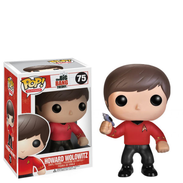 The Big Bang Theory Howard Star Trek Pop! Vinyl Figure