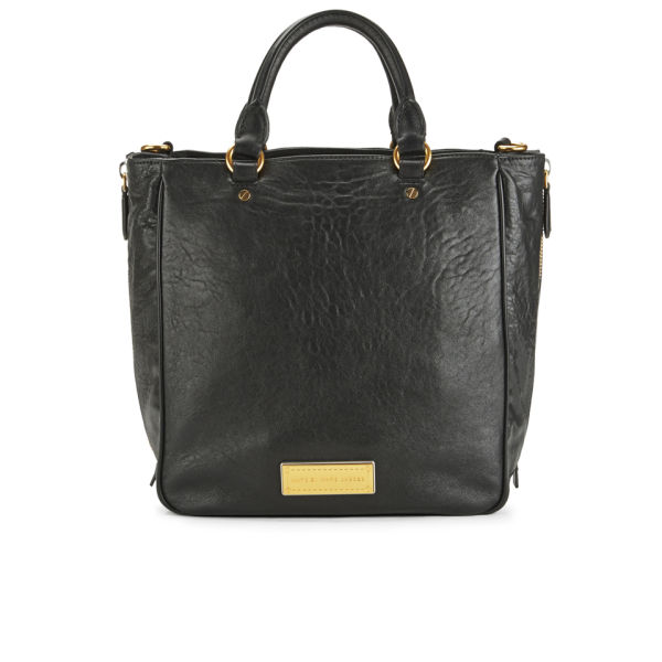 Marc by Marc Jacobs Washed Up Leather Tote Bag - Black