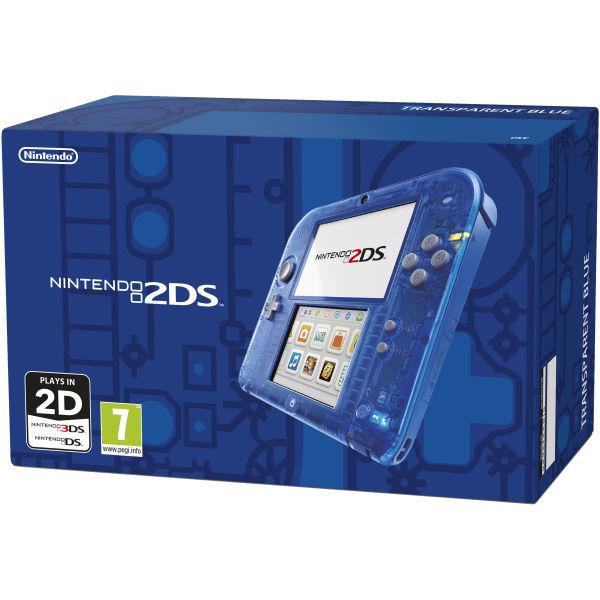 Nintendo 2DS Transparent Blue | Nintendo UK Store