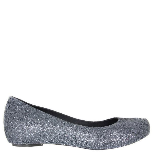 Melissa Women's Ultragirl Glitter Shoes - Gun