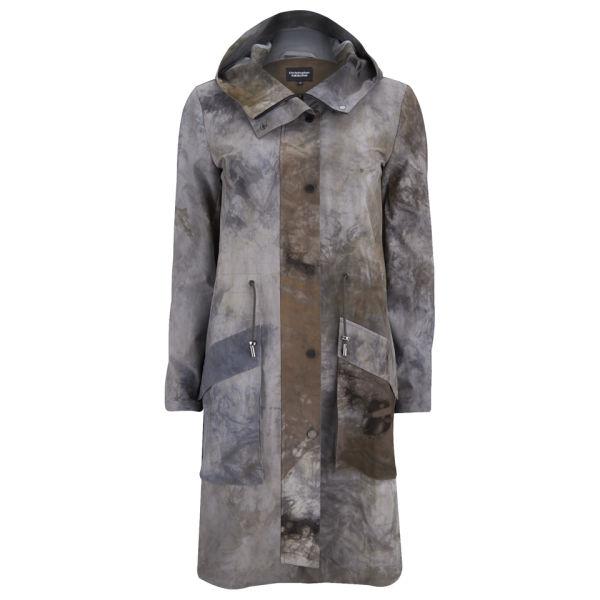 Christopher Raeburn Women's Tech Stretch Hybrid Coat - Grey