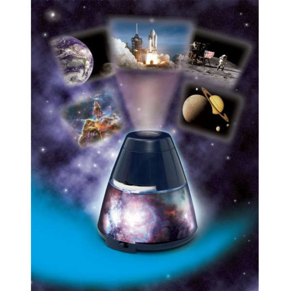 Space Explorer Room Projector Night Light
