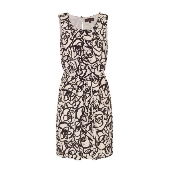 Great Plains Women's J1LL9 Doodle Flower Dress - Pavlova