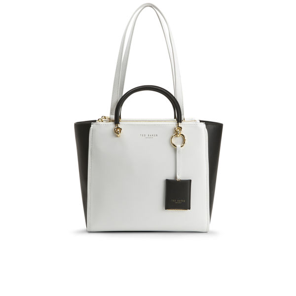 bb68f09aa40 Home Women Womens Accessories Ted Baker Mellays Wing Tote Bag - White