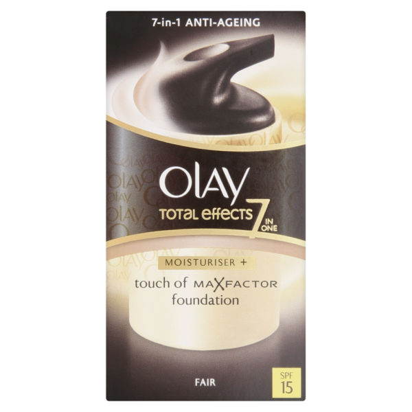 Olay Total Effects Moisturiser BB Creme LSF15 - Hell (50ml)