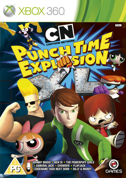 Cartoon network punch time explosion xl xbox 360 for What does punch out mean in construction