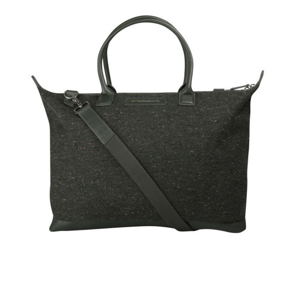WANT LES ESSENTIELS Lindbergh Shoulder Tote - Sprucefire/Moss
