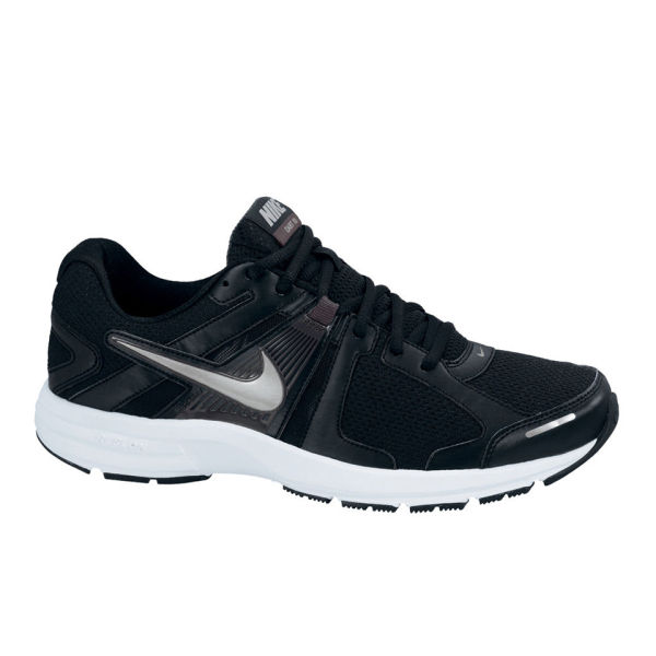 Nike Men's Dart 10 Running Shoes - Black/White Sports