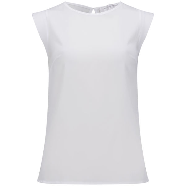 French Connection Women's Capped Sleeve T-Shirt - White
