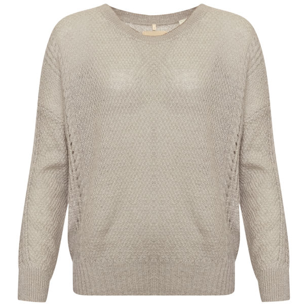 Levi's Made & Crafted Women's Figment Misty Rose Crew Knitwear - Beige