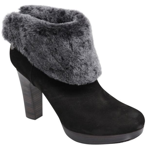 ugg australia heeled boots