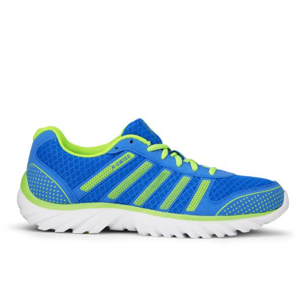 Swiss Men's Blade-Light Running Shoes - Blue/Green/White