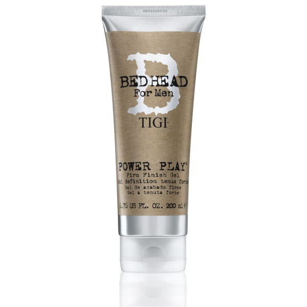 tigi bed head for men power play firm finish gel 200ml free delivery. Black Bedroom Furniture Sets. Home Design Ideas