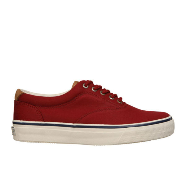 sperry s striper cvo waxed canvas shoes oxblood