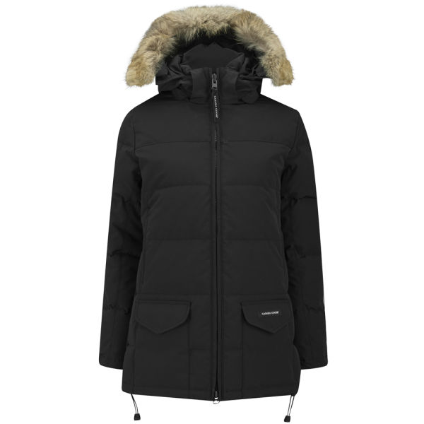 Canada Goose hats outlet fake - Canada Goose Women's Solaris Parka - Black - Free UK Delivery over ��50