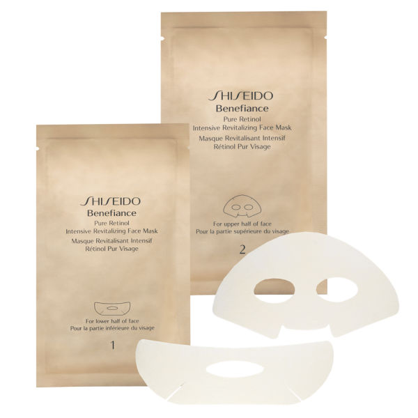 Shiseido Benefiance Pure Retinol Intensiv Revitalizing Face Mask x 4 Sachets