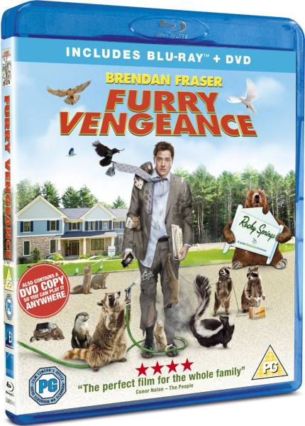 Furry Vengeance Blu-ray | Zavvi.com