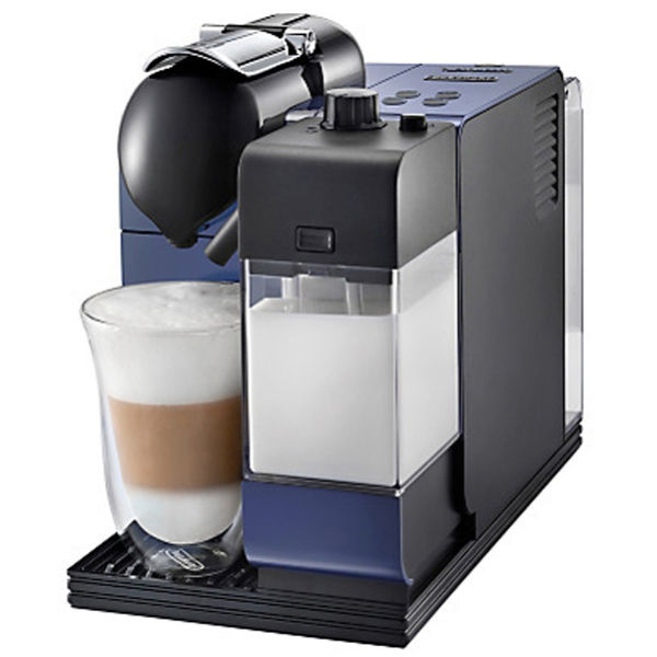 De Longhi Nespresso Lattissima+ Capsule Coffee Machine - Midnight Blue IWOOT
