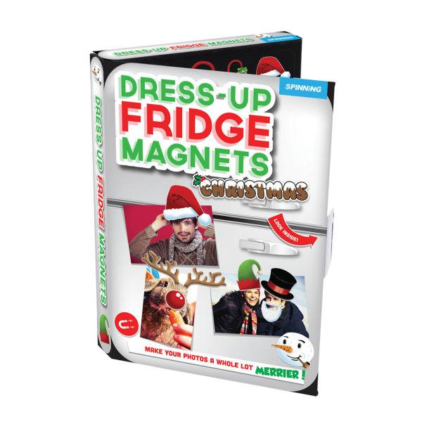 Dress Up Fridge Magnets Christmas Iwoot