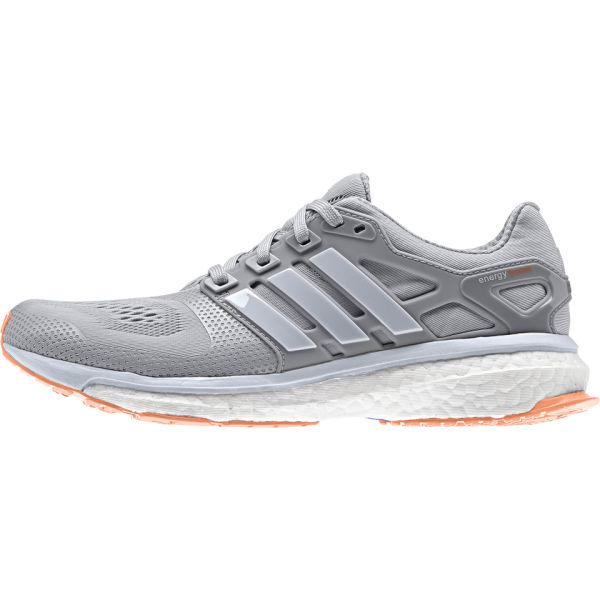 adidas s energy boost running shoes grey orange