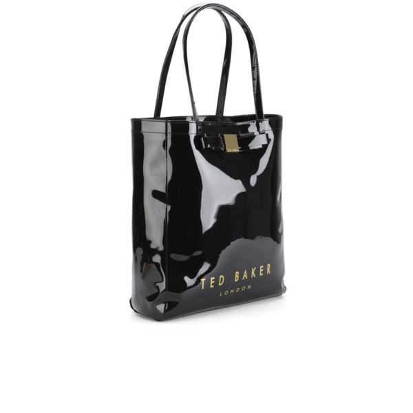 fe6616deef3 Ted baker women solcon bow plastic large tote bag black jpg 600x600 Plastic  bags ted baker