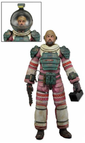 NECA Aliens Dallas Nostromo Suit 7 Inch  Action Figure