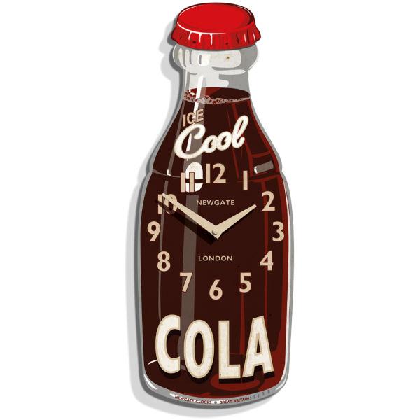 Cola Bottle Clock