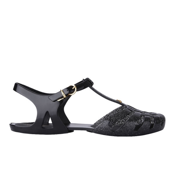 Vivienne Westwood for Melissa Women's Aranha Hits Jelly Sandals - Black Glitter