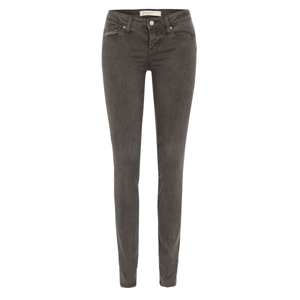 Marc by Marc Jacobs Women's M1122906 Lou Skinny Graphite Jeans - Grey