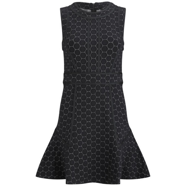 Marc by Marc Jacobs Women's Fit and Flair Tank Dress - Black Multi