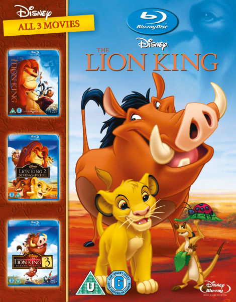 The Lion King 1 3 Blu Ray Zavvi Com