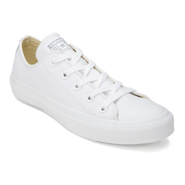 Converse Unisex Chuck Taylor All Star Ox Leather Trainers