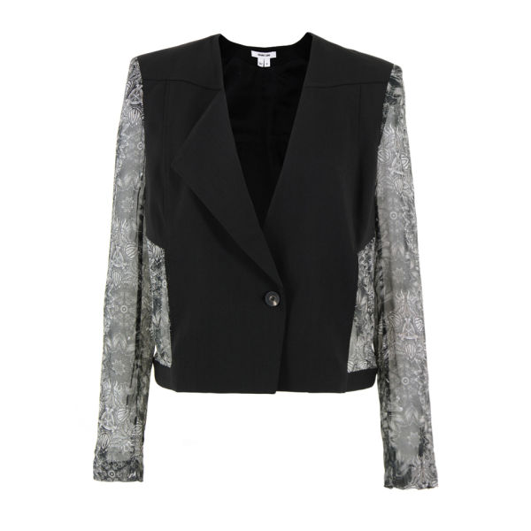 Helmut Lang Women's Cinder Wool Jacket - Grey Multi