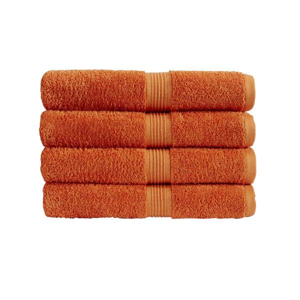 Christy Verona Towel Mandarin Homeware Thehut Com