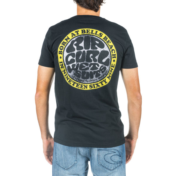 Rip Curl Men's Wetsuit Retro Short Sleeve T-Shirt
