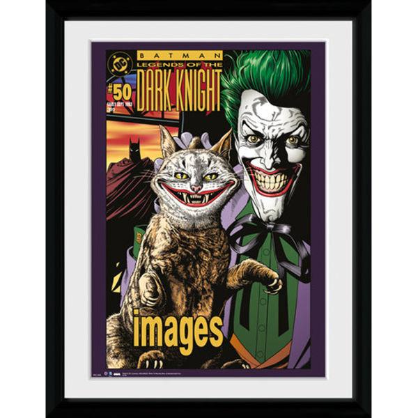 DC Comics Batman Comic The Joker Cat - 30x40 Collector Prints ... Joker Comic Poster