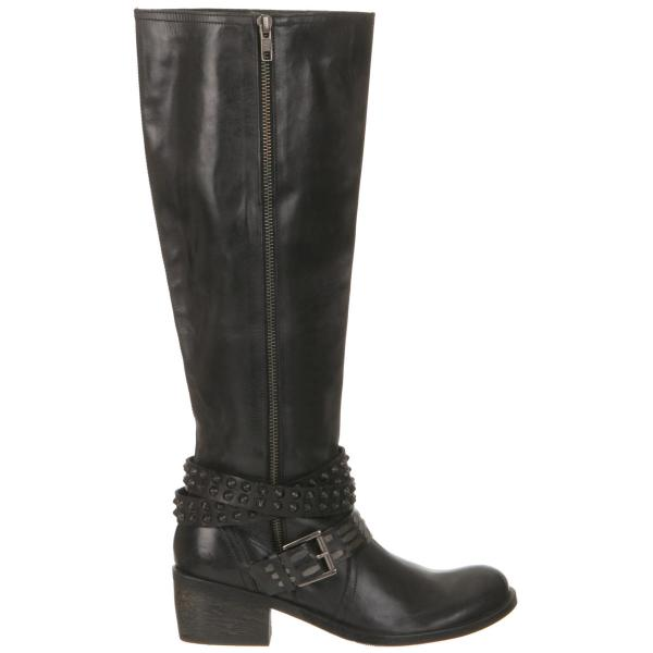 bronx s solid knee high boots black clothing