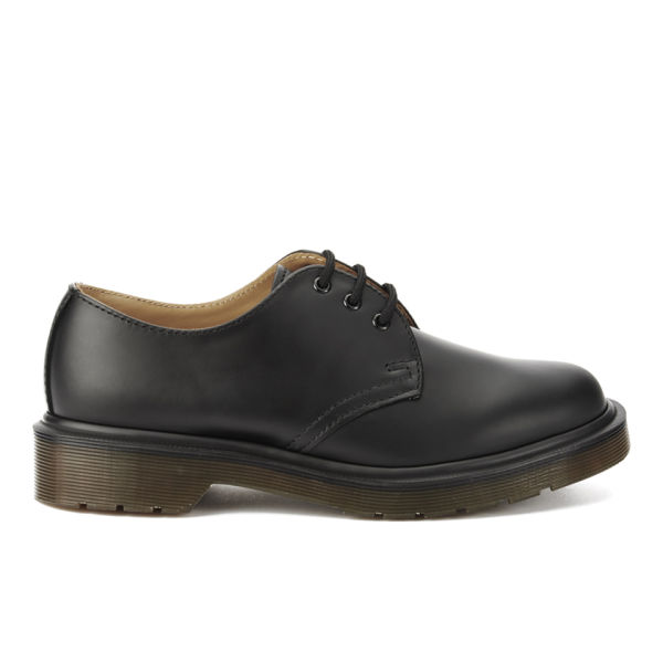 Dr. Martens Unisex Core Classics 1461 Leather Shoes - Black