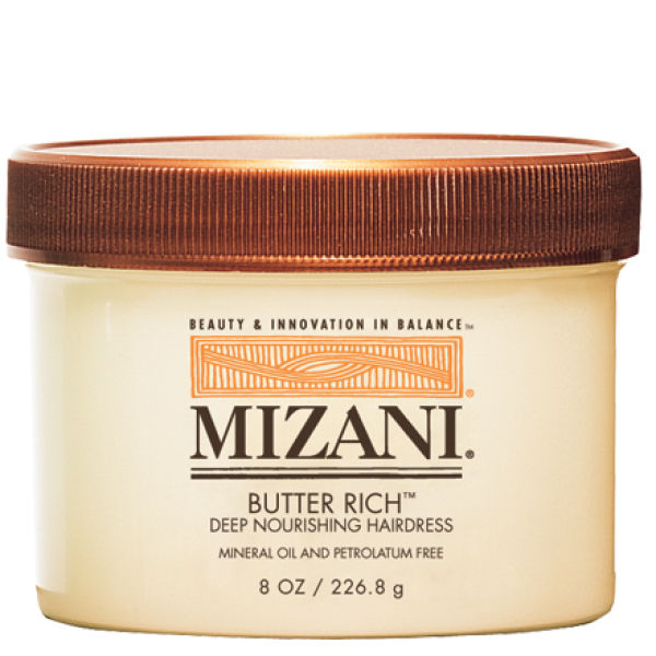 Mascarilla ultra hidratante Mizani Butter Rich Deep Nourishing Hairdress 8oz