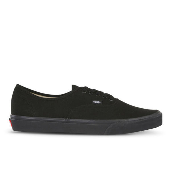Vans Authentic Canvas Trainers - Black/Black