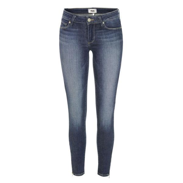 Paige Women's Verdugo Ankle Zip Jeans - Benny Blue