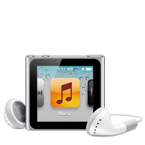 Apple iPod Nano 16GB - Silver 6th Generation Electronics ...