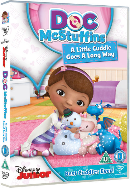 doc mcstuffins a little cuddle goes a long way volume 3 dvd. Black Bedroom Furniture Sets. Home Design Ideas