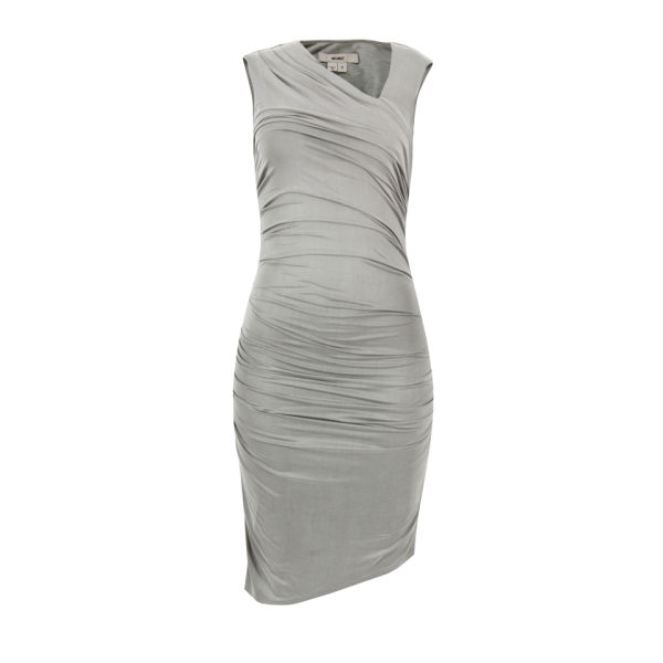 Helmut Lang Women's Cupro Drape Dress - Silica