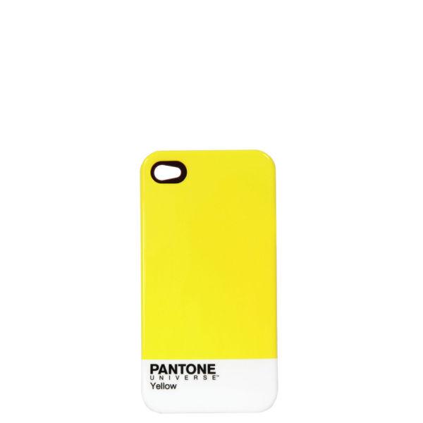 Pantone Men's iPhone 4 Case - Yellow