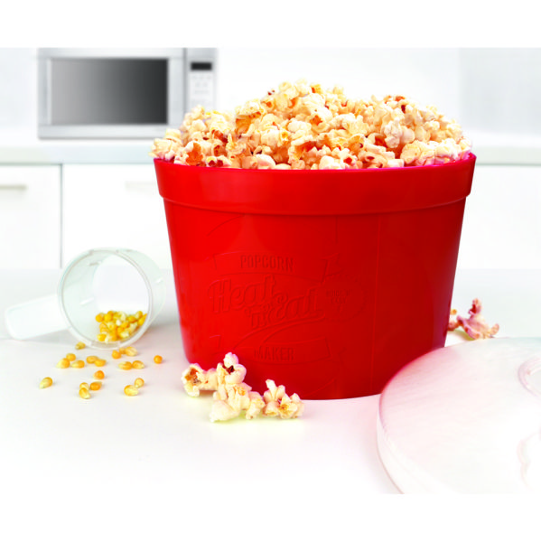 Heat n eat microwave popcorn maker iwoot