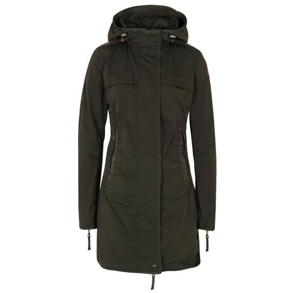 Parajumpers Women's Long Parka Jacket - Olive