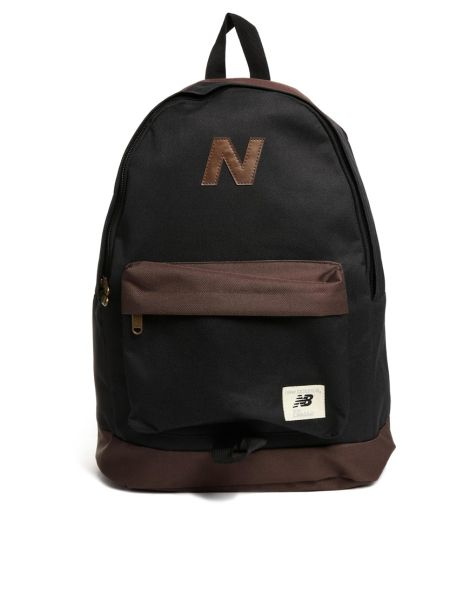 new balance herren mellow rucksack schwarz braun sowia. Black Bedroom Furniture Sets. Home Design Ideas
