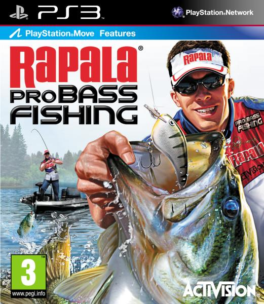 Rapala pro bass fishing ps3 for Ps3 fishing games