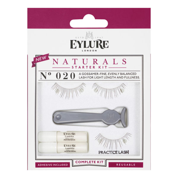 Eylure Lashes Starter Kit nr 020 (Natural)